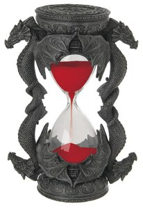sand timer red